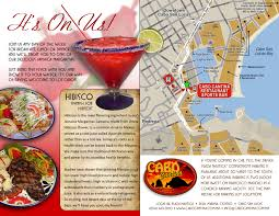 Cabo San Lucas Mexico Map by Best Cabo Sports Bar Restaurant Steaks Seafood Mexican