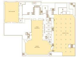 ballroom floor plan floor plans capacity charts palmer house