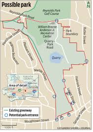 Prospect Park Map Groundbreaking Set For Today At New Quarry Park In Winston Salem