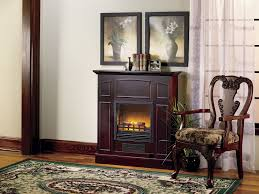 fingerhut alcove franklin electric fireplace heater with mantel