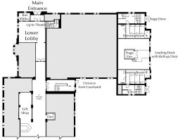 stage floor plan um school of music theatre dance facilities lydia