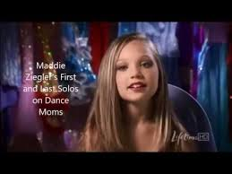 maddie s maddie ziegler s first and last solo on dance moms youtube