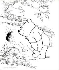 71 colouring pages winnie pooh images