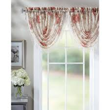 Beaded Curtains At Walmart by Eclipse Thermaback Blackout Wavy Chevron Valance Walmart Com