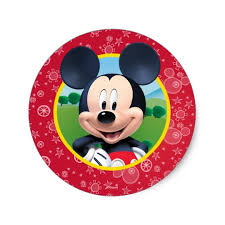 mickey mouse birthday mickey mouse birthday classic sticker zazzle