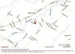 Map Mapquest Friendly Village Gorham Maine