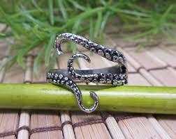 metal octopus ring holder images Octopus ring etsy jpg