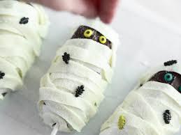 mummy halloween cake easy mummy cake pops hgtv