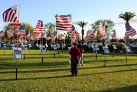 Fallen Officer Flag Calipatria Centinela Staff Join Imperial Valley Salute To Fallen