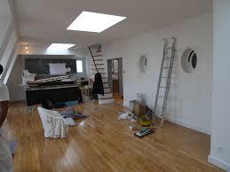 parquet salon cuisine lparchitectes com appartement rénovation verrière parquet oeil de