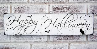 chic halloween decorations happy halloween sign halloween party decoration halloween door
