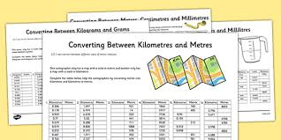 imperial to metric conversion worksheets converting between units of metric measures activity sheet pack