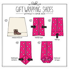Gift Wrapping How To - how to gift wrap shoes shoe zone blog