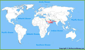 Map Of Spain And Surrounding Countries by United Arab Emirates Maps Maps Of Uae United Arab Emirates