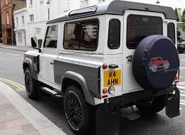 land rover defender 2016 khan london car spotting land rover defender tuned by kahn design