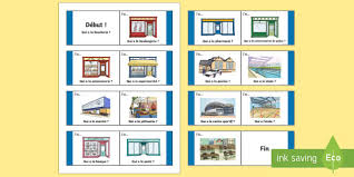 vocabulary buildings primary resources french page 1