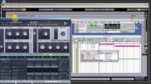 opcode studio vision pro controlling daw ex3 manual control youtube