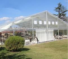 Transparent Tent 30x35m Clear Roof Wedding Tent Giant Tents Material Pvc