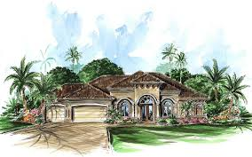 tuscan style home plan 66085we architectural designs house plans
