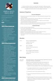 Experienced Teacher Resume Examples by Professor Resume Samples Visualcv Resume Samples Database