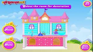 baby barbie princess dollhouse barbie doll house game for girls