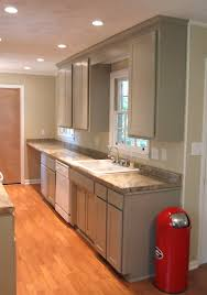 kitchen recessed lighting design with galley spacing and 11
