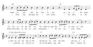 dust returning to the song of songs the ornamentation