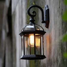 Antique Outdoor Lighting Online Get Cheap Outdoor Edison Sconce Aliexpress Com Alibaba Group