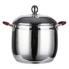 faitout et cuisine 23cm faitout batterie de cuisine marmite à soupe casseroles en