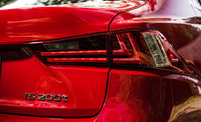 lexus is 200t sport review 2016 lexus is200t f sport exterior taillight right 8405 cars