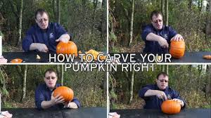 carve perfect pumpkin halloween 7 easy steps