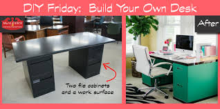 Diy Metal Desk by File Cabinet Ideas Red File Cabinet Desk Diy Sample Collection