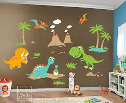 Nursery Decor Stickers Fashionable Design Ideas Dinosaur Wall Decor Stickers Nursery
