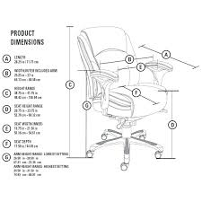 Height Of Average Desk Desk Chair Desk Chair Dimensions In Drafting Side View Drawing