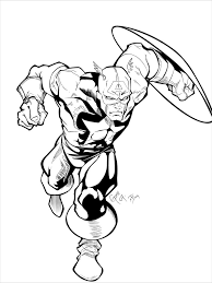 captain america coloring pages get coloring pages