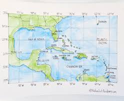 Cancun Mexico Map by Geography Lesson U2013 Gulf Of Mexico And Caribbean Sea Naturalist