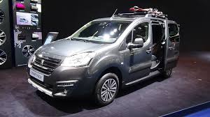 peugeot bipper tepee 2015 peugeot partner tepee outdoor exterior and interior iaa