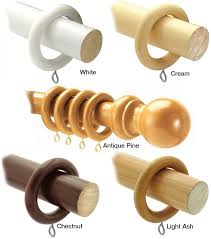 Decorative Wood Curtain Rods Design For Wood Curtain Rods Ideas 25092