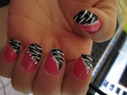 diy nail art zebra best nail 2017 images of zebra print nail art