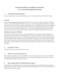 Dentist Description U S Customs And Border Protection User Fee Advisory Committee