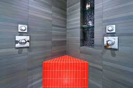 san francisco showers with benches bathroom modern built in shower
