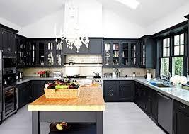 Kitchen Design With Black Appliances Captivating Modern Kitchen With Black Appliances Kitchen Design