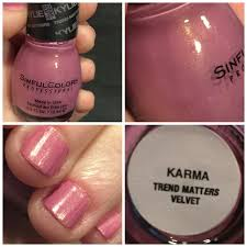 sinfulcolors kylie jenner trend matters nail polish in karma u2013 you