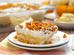 pumpkin pie dessert lasagna the cookie rookie