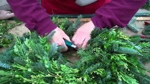 live christmas wreaths wilson s garden center how to make a fresh greens wreath