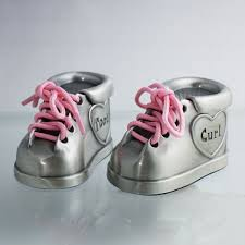 personalized keepsake gifts personalized pewter tooth curl booties set baby gifts