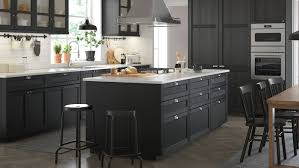 how to design a kitchen with ikea lerhyttan black stained kitchen ikea