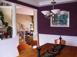 purple livingroom connecting rooms with color hgtv
