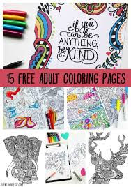 printable coloring pages adults 15 free designs