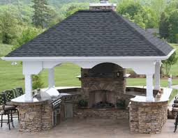 Covered Outdoor Kitchen Plans by U Shaped Outdoor Kitchen Designs Photo Gallery Backyard